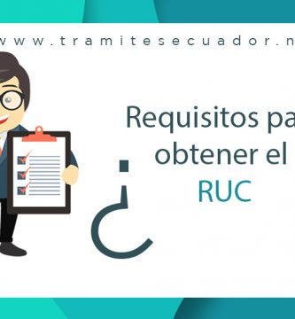 requisitos para obtener el ruc